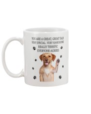 Labrador Retriever Father Mug back
