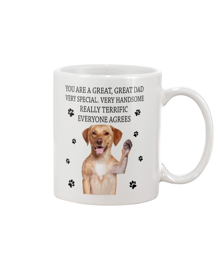 Labrador Retriever Father Mug