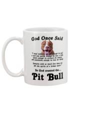 Pitbull God Said Mug back