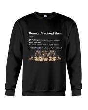 Mom German Shepherd Crewneck Sweatshirt thumbnail