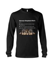 Mom German Shepherd Long Sleeve Tee thumbnail