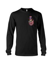 Cat America Flag Long Sleeve Tee thumbnail