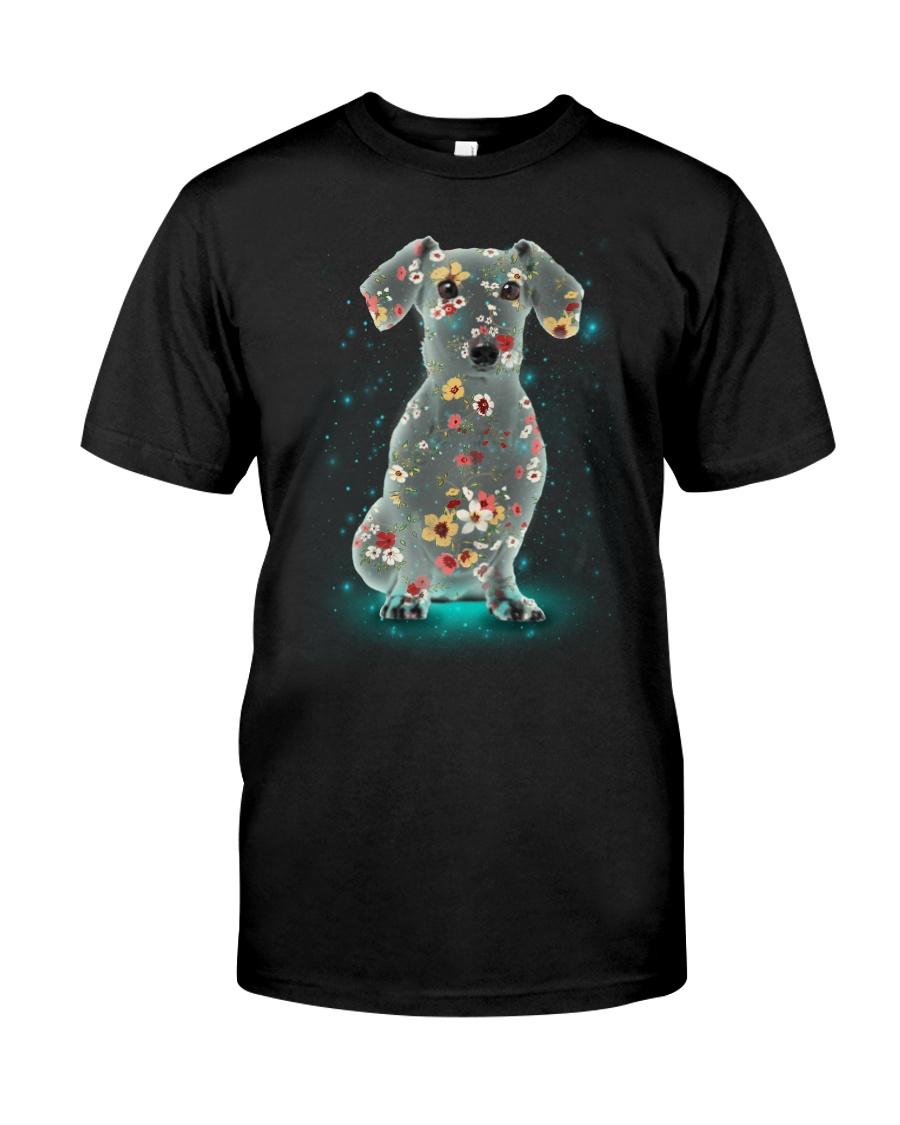Phoebe - Dachshund Flower 12418 - 02 Classic T-Shirt