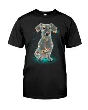 Phoebe - Dachshund Flower 12418 - 02 Classic T-Shirt front