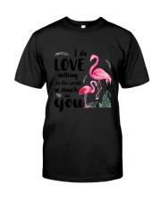 Flamingo I Love You Classic T-Shirt thumbnail