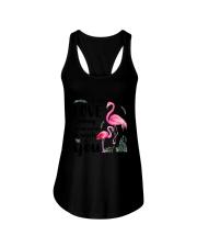 Flamingo I Love You Ladies Flowy Tank thumbnail