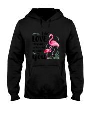 Flamingo I Love You Hooded Sweatshirt thumbnail