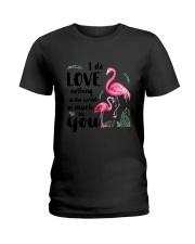 Flamingo I Love You Ladies T-Shirt thumbnail