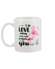 Flamingo I Love You Mug back