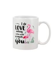 Flamingo I Love You Mug front