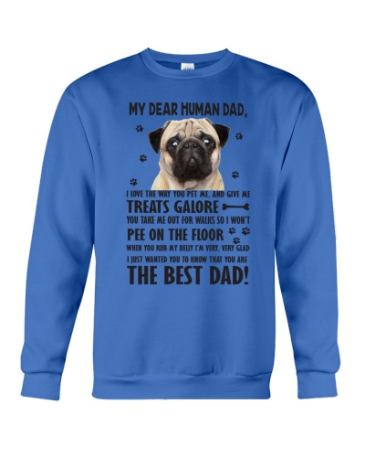 Human Dad Pug