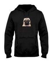 Human Dad Pug Hooded Sweatshirt thumbnail