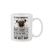 Human Dad Pug Mug front