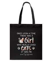 Cat Once Upon A Time Tote Bag thumbnail