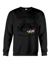 Siberian Husky Happily Ever After Crewneck Sweatshirt thumbnail