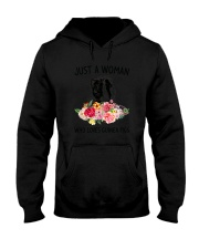 Just A Woman Guinea Pig Hooded Sweatshirt tile