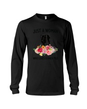 Just A Woman Guinea Pig Long Sleeve Tee thumbnail