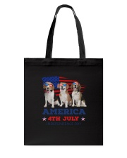 4th July Beagle Tote Bag thumbnail