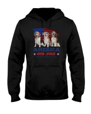 4th July Beagle Hooded Sweatshirt thumbnail