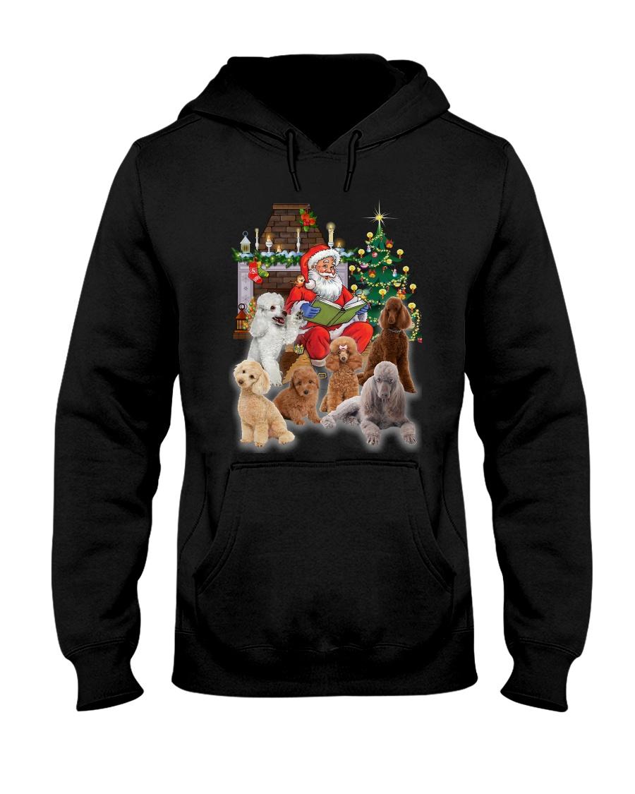 PHOEBE - Poodle - 1311 - A75 Hooded Sweatshirt