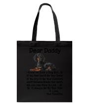 Daddy Dachshund Tote Bag thumbnail