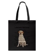 Labrador Retriever My Friend Tote Bag thumbnail