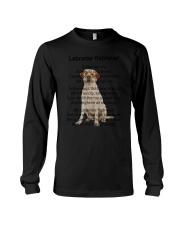 Labrador Retriever My Friend Long Sleeve Tee thumbnail