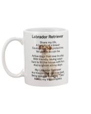 Labrador Retriever My Friend Mug back