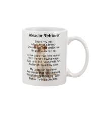 Labrador Retriever My Friend Mug front