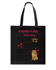 Poem From Chow Chow Tote Bag thumbnail