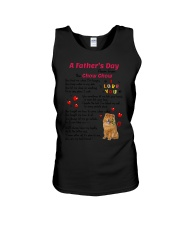Poem From Chow Chow Unisex Tank thumbnail