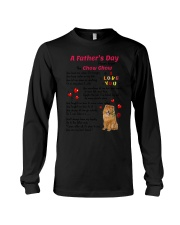 Poem From Chow Chow Long Sleeve Tee thumbnail