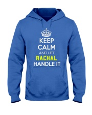 Rachal Calm Shirt Hooded Sweatshirt front