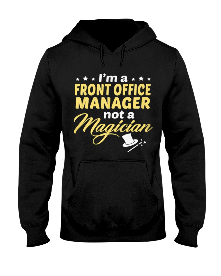 Front Office Manager 064038 Hooded Sweatshirt