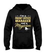 Front Office Manager 064038 Hooded Sweatshirt front