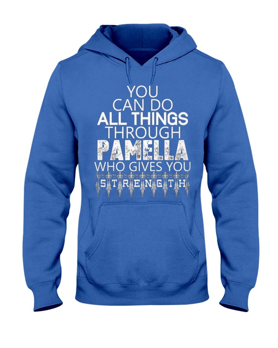 Pamella Gives You Strength New Hooded Sweatshirt