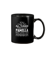 Pamella Gives You Strength New Mug thumbnail