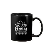 Pamella Gives You Strength New Mug thumbnail