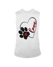 valentine Day Dog Moms shirts Sleeveless Tee thumbnail