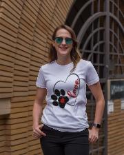 valentine Day Dog Moms shirts Premium Fit Ladies Tee lifestyle-women-crewneck-front-2