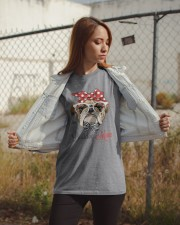 LIMITED EDITION - BULDOG MOM 15 OFF Classic T-Shirt apparel-classic-tshirt-lifestyle-07