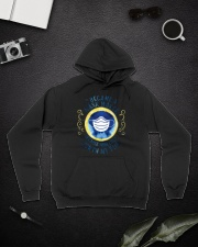 I BECAME A MASK MAKER Hooded Sweatshirt lifestyle-unisex-hoodie-front-9