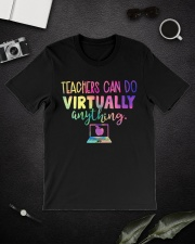 TEACHER CAN DO Classic T-Shirt lifestyle-mens-crewneck-front-16