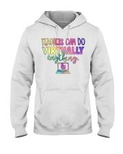 TEACHER CAN DO Hooded Sweatshirt thumbnail