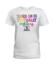 TEACHER CAN DO Ladies T-Shirt thumbnail