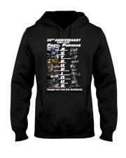 20th Annversary 2001-2021 Fast Furious Hooded Sweatshirt front