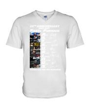 20th Annversary 2001-2021 Fast Furious V-Neck T-Shirt thumbnail