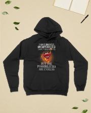 I am Currently Unsupervised Hooded Sweatshirt lifestyle-unisex-hoodie-front-6