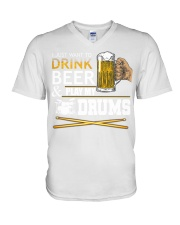 Beer V-Neck T-Shirt thumbnail