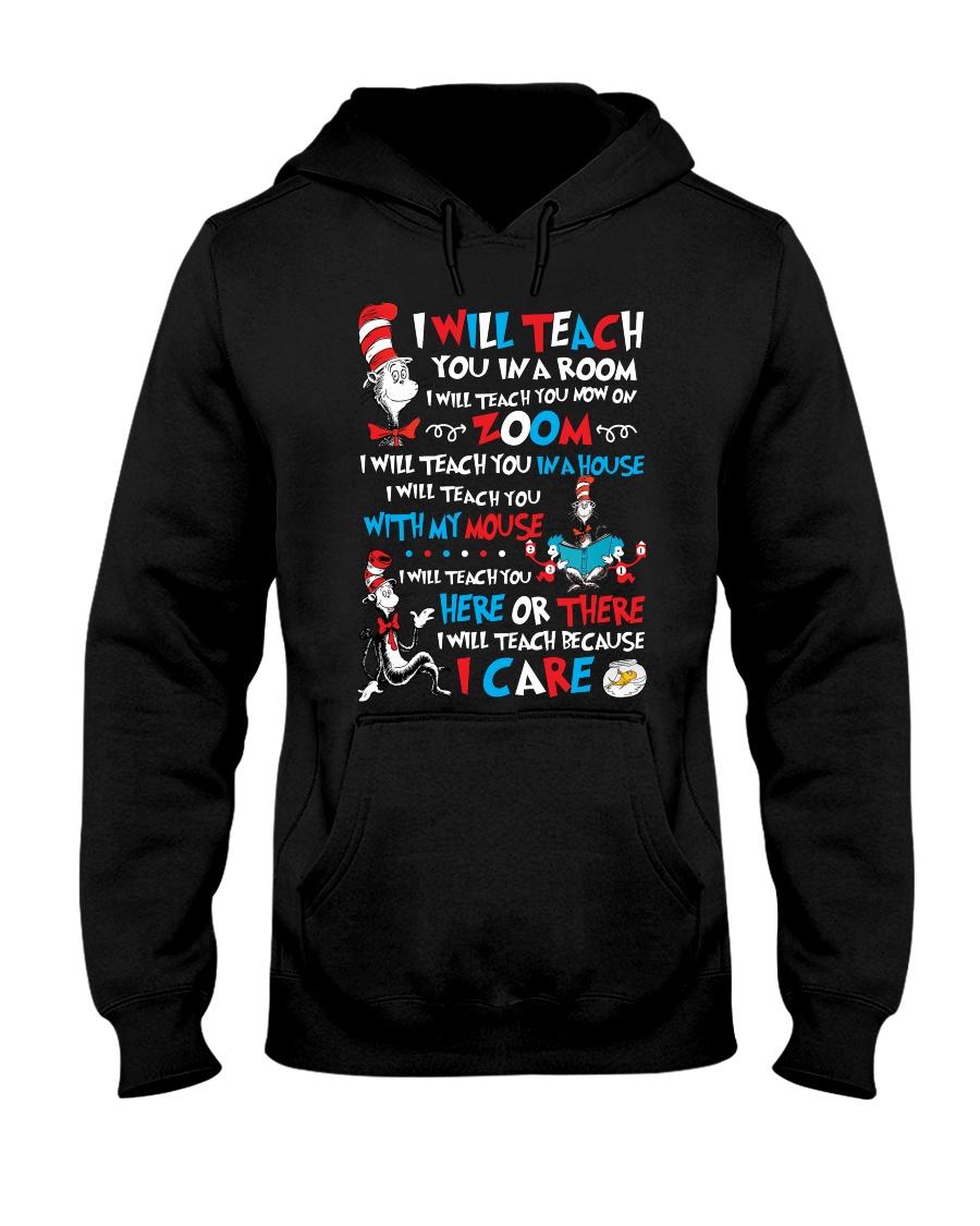 I WILL TEACH YOU Hooded Sweatshirt